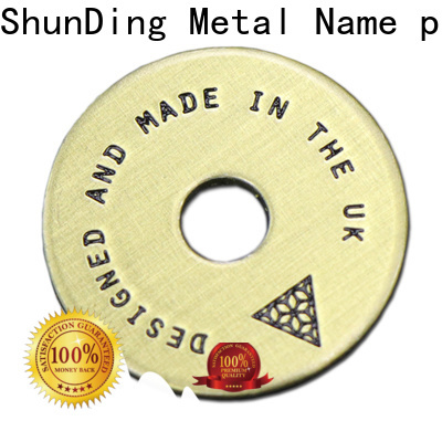 ShunDing high-quality name plates for trophies with cheap price for meeting