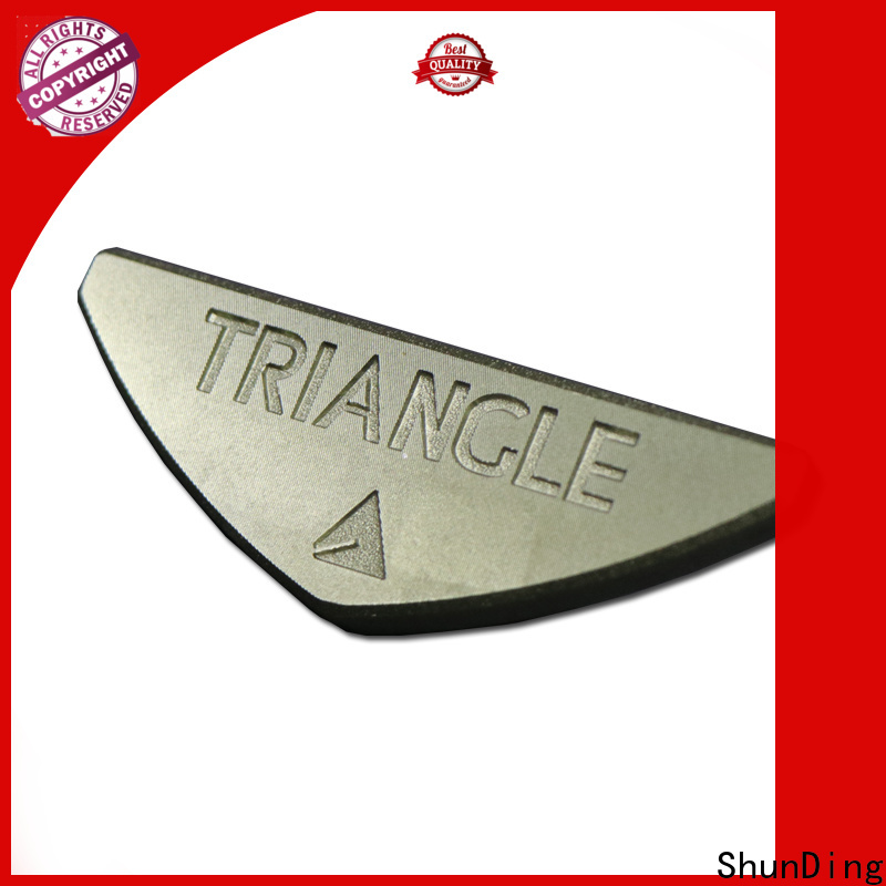 ShunDing metal engraved name plates manufacturer for meeting