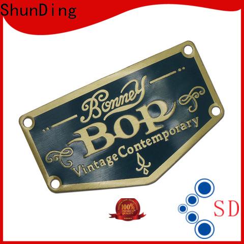 ShunDing wine bottle label supplier for identification