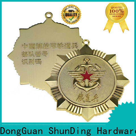 fine- quality custom metal badges adhesive owner for souvenir