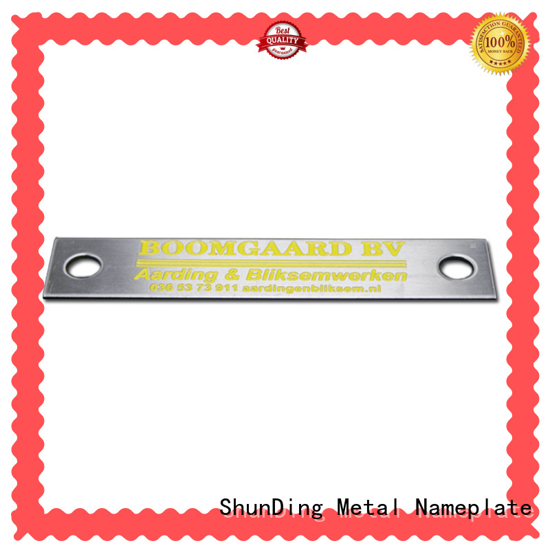 ShunDing industry-leading name plaques directly sale for commendation