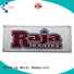 high-quality table name plate colorful by Chinese manufaturer for company
