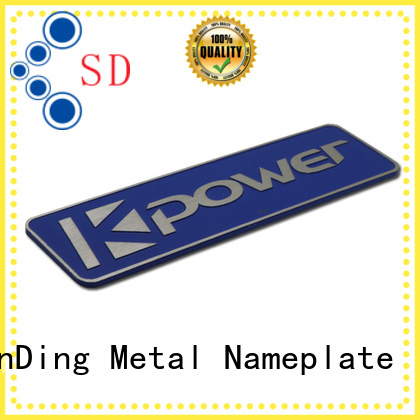 ShunDing car custom name tags inquire now for auction