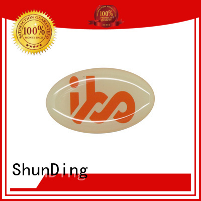 ShunDing steel metal sticker with cheap price for identification