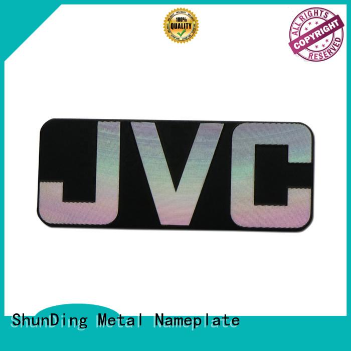 ShunDing hot-sale custom name plates inquire now for souvenir