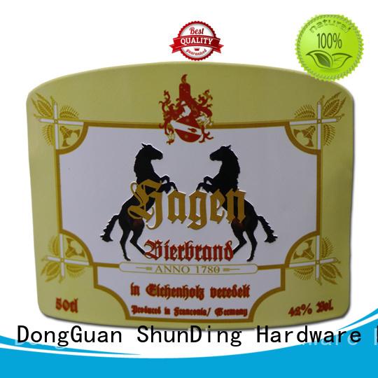 ShunDing aluminum steel label free quote for souvenir