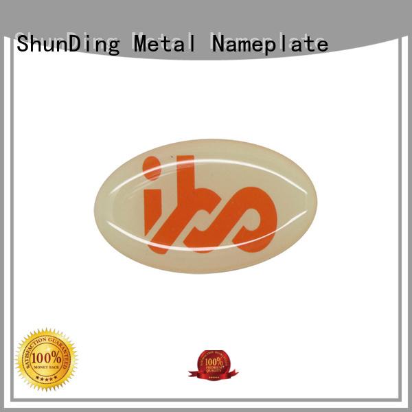 ShunDing stainless aluminium sticker from China for meeting