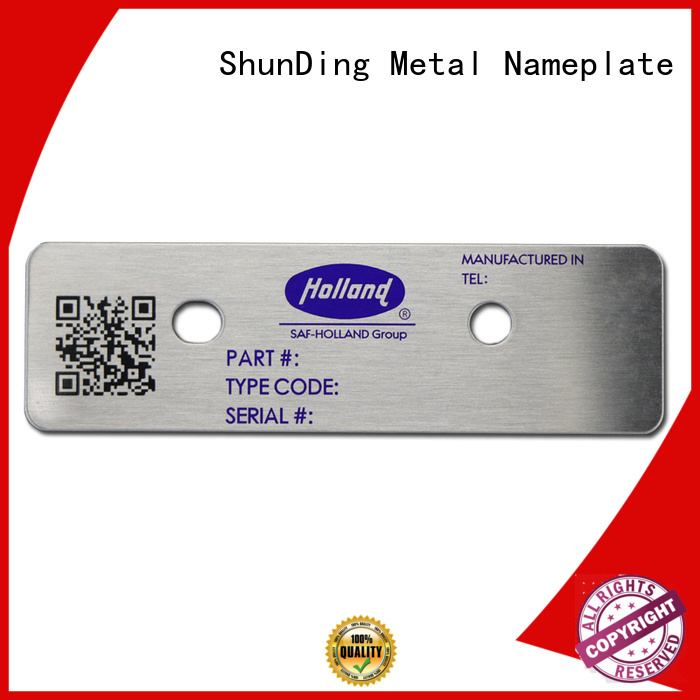 quality barcode labels stainless long-term-use for meeting