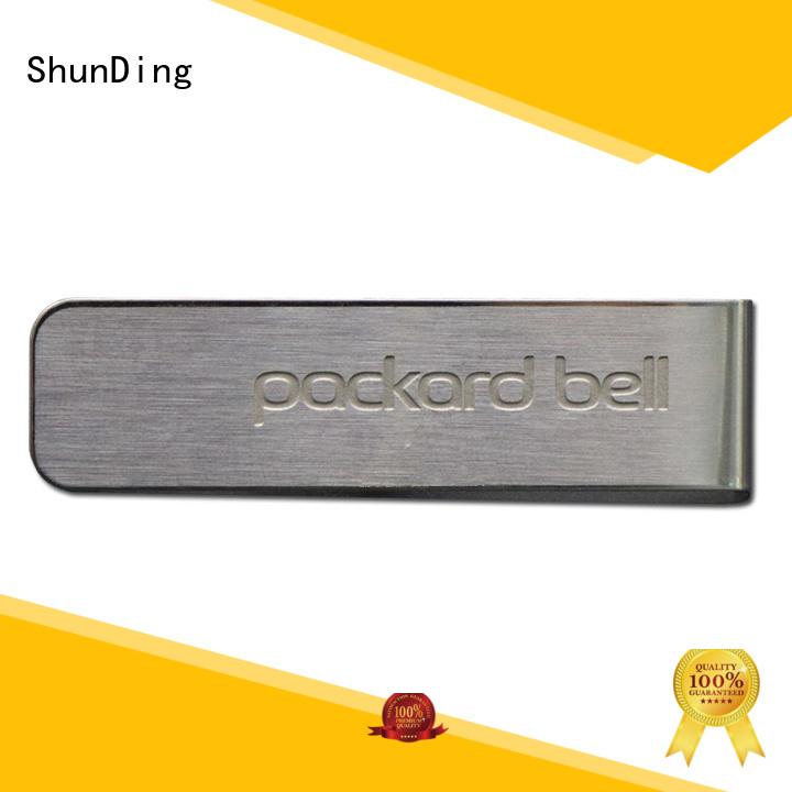 ShunDing 3d door name plates factory price for souvenir