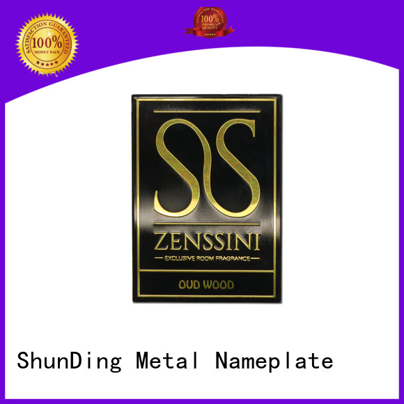 ShunDing new-arrival metal adhesive labels bulk production for activist