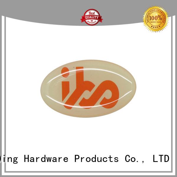 ShunDing metal aluminum sticker from China for identification