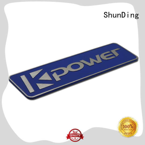 ShunDing hot-sale custom name tags by Chinese manufaturer for staff