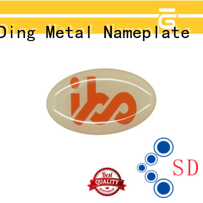 magnificent metal nameplates anodized producer for commendation