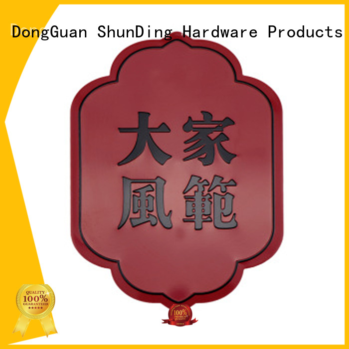 fine- quality metal label barcode factory price for activist