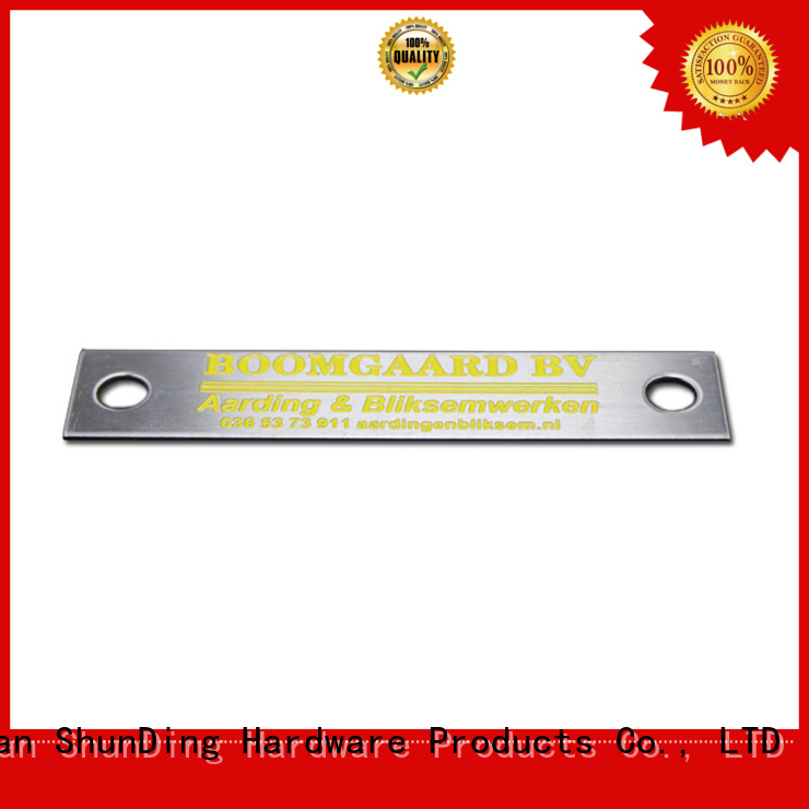 ShunDing embossed custom name tags from China for meeting