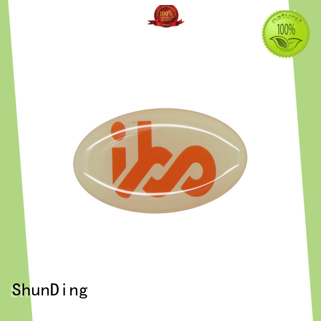 etching metal plate sticker factory price for commendation ShunDing