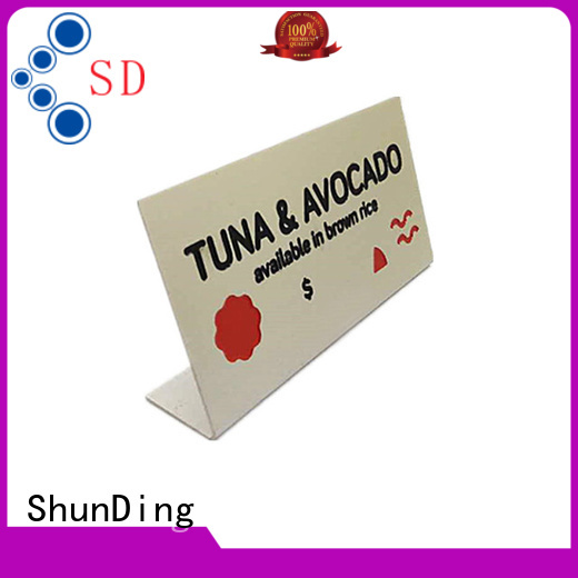 ShunDing durable engraved name plates directly sale for meeting