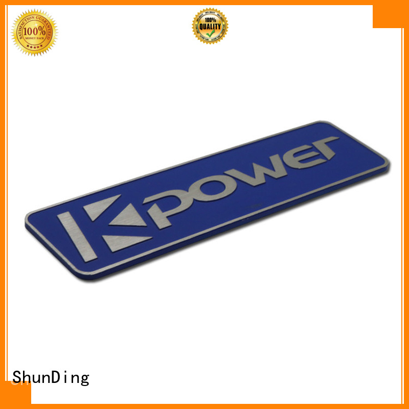ShunDing nameplate office name plates factory price for activist