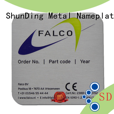 ShunDing hot-sale custom name tags directly sale for identification