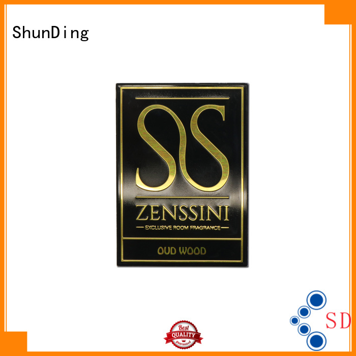 ShunDing perfume barcode label bulk production for auction
