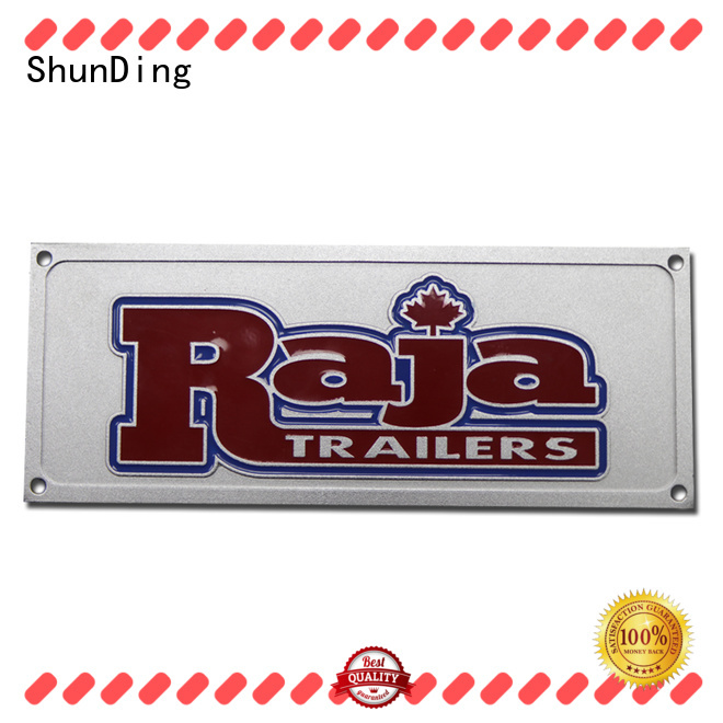 ShunDing fine- quality personalized name plates with good price for souvenir