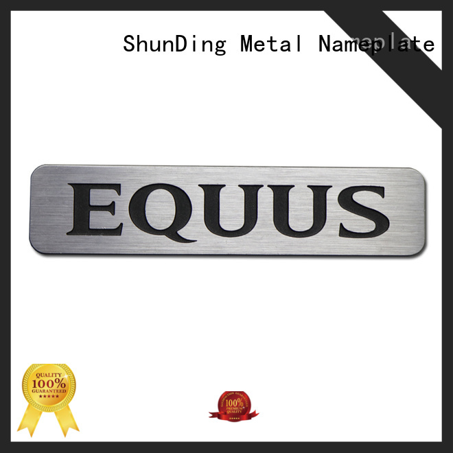 ShunDing newly desk name plaques with good price for company