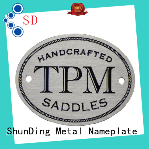 ShunDing newly table name plate directly sale for souvenir