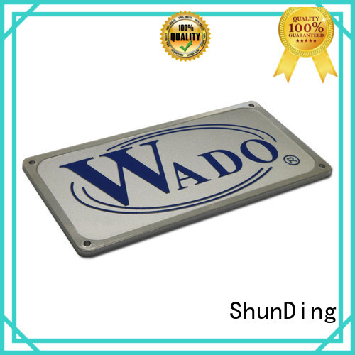 ShunDing 3d door name plates from China for company