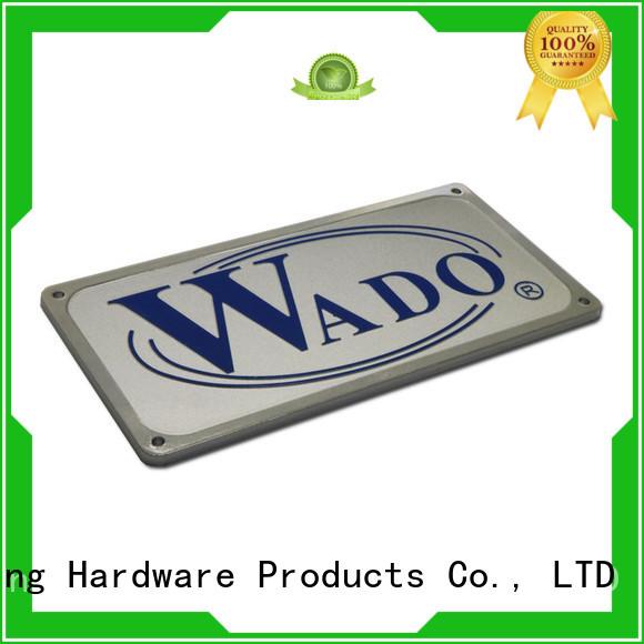 ShunDing Brand metal private door name plates manufacture