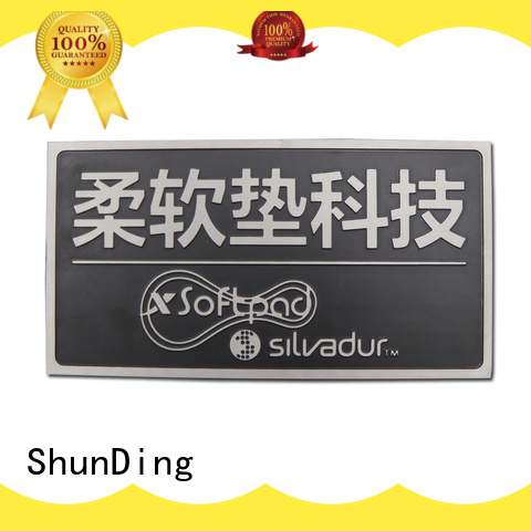 new-arrival name plaques embossing with good price for staff