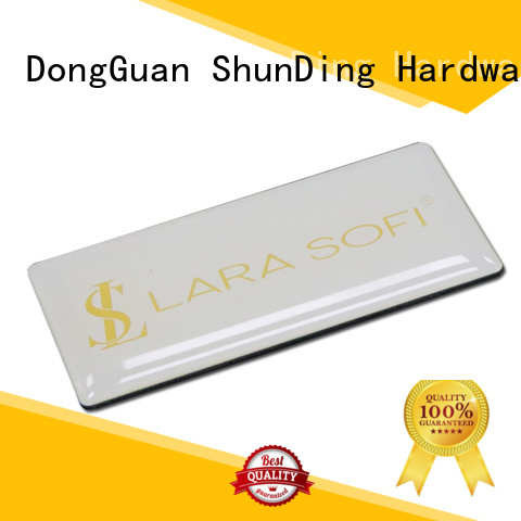 ShunDing plate nickel sticker by Chinese manufaturer for meeting