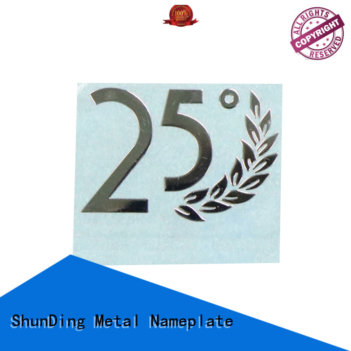 ShunDing stable custom name plates by Chinese manufaturer for staff