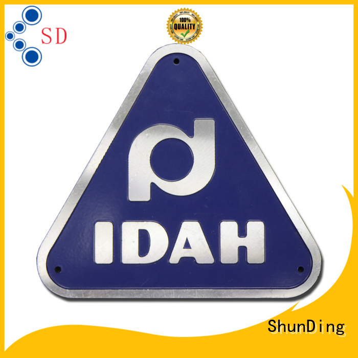 new-arrival door name plates embossing with cheap price for commendation