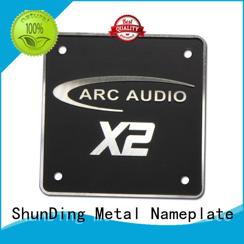 reliable engraved name plates car factory price for commendation