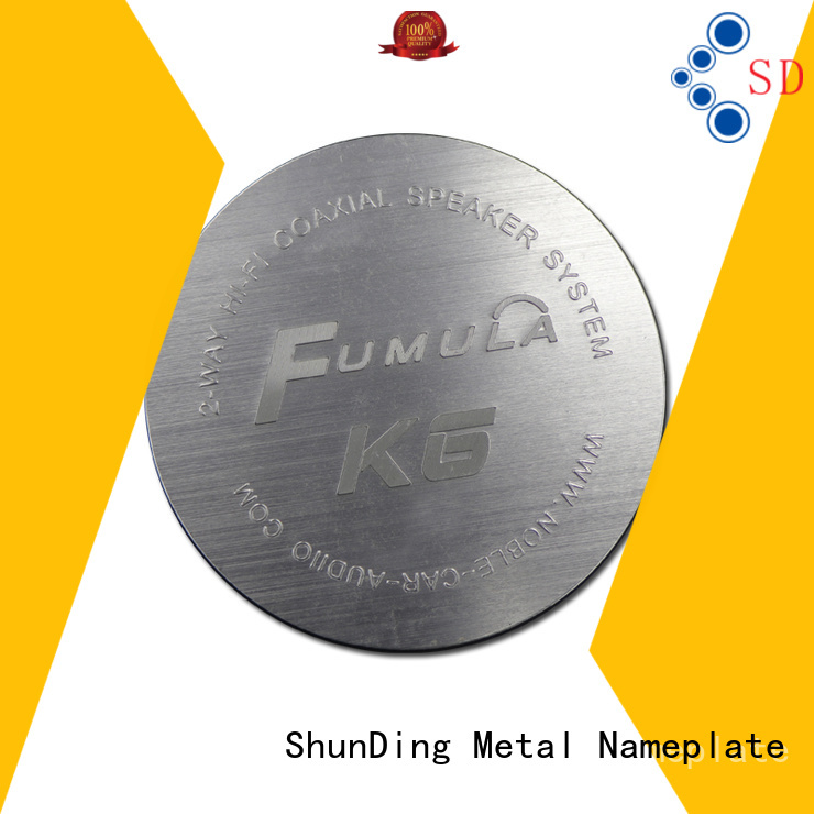 ShunDing domed door name plates directly sale for identification