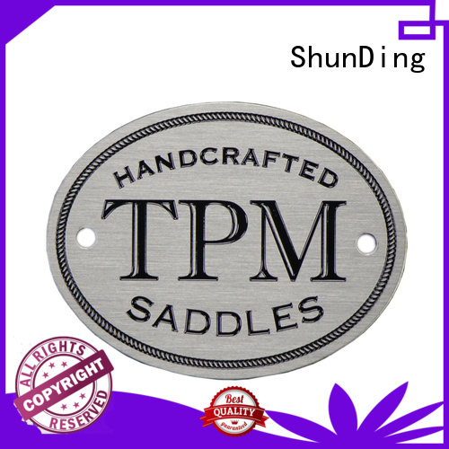 fine- quality office name plates silver factory price for identification