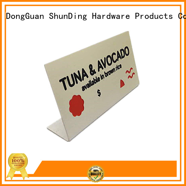 ShunDing diamondcutting name plaques directly sale for meeting