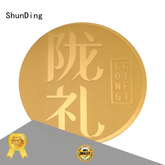 ShunDing hot-sale steel label long-term-use for commendation