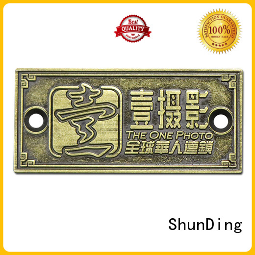 ShunDing first-rate office door name plates factory price for activist