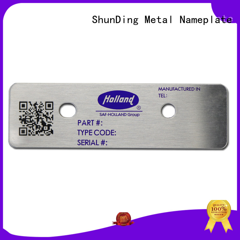 ShunDing number barcode label factory price for staff
