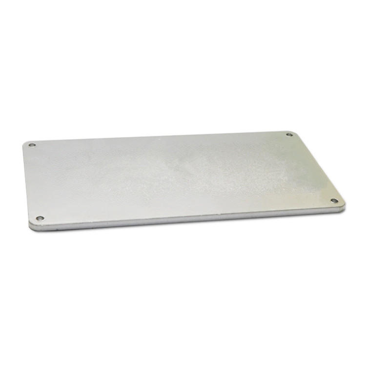 Anti-UV anodized metal name plates SD-N00017-3