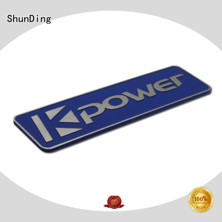 ShunDing newly office name plates with good price for auction