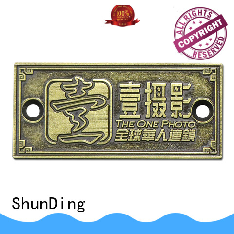 ShunDing domed office door name plates directly sale for company